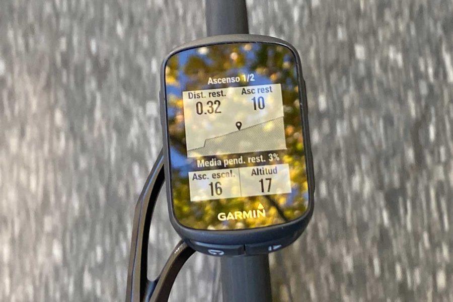 Garmin Edge 130 Plus - Subida ClimbPro