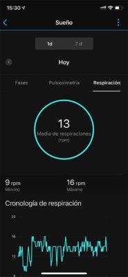 Garmin Venu Sq - Actividad Garmin Connect