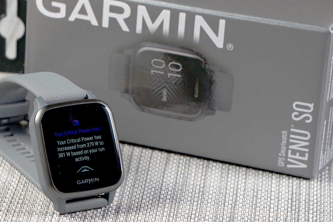 Garmin Venu Sq - Notificación
