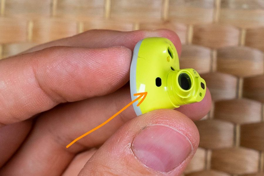 Bose Sport Earbuds - Sensor oreja