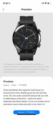 Honor Watch GS Pro - Esferas