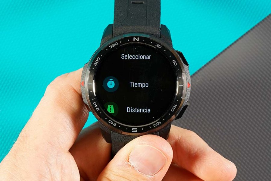Honor Watch GS Pro - Pantalla de datos