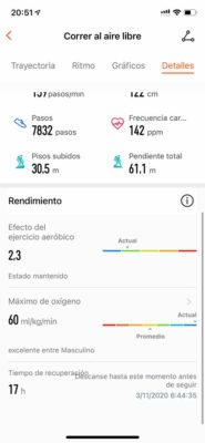 Honor Watch GS Pro - Registro de actividad
