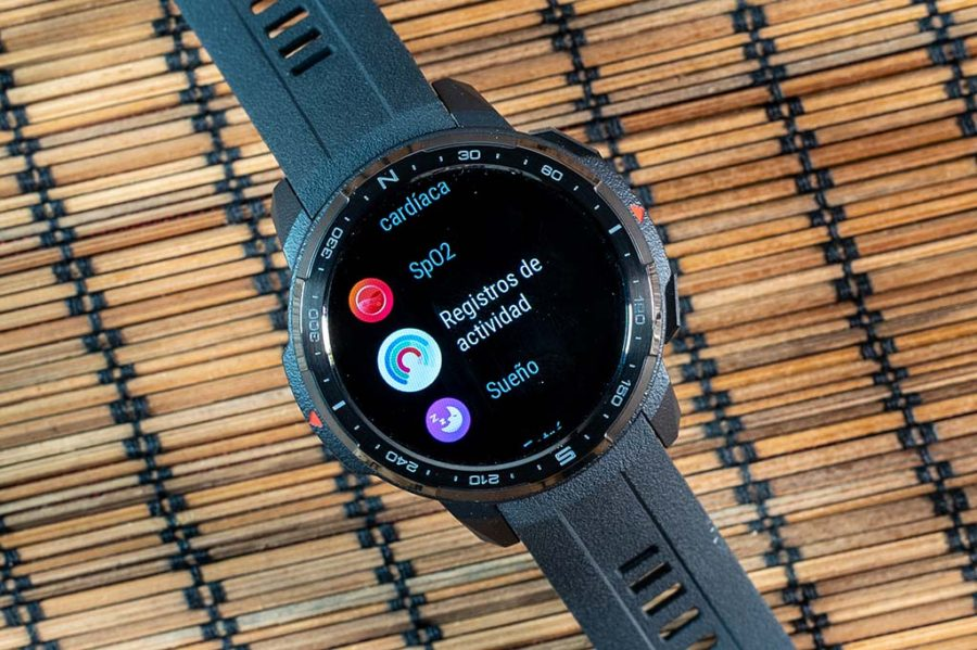 Honor Watch GS Pro - Registros de actividad