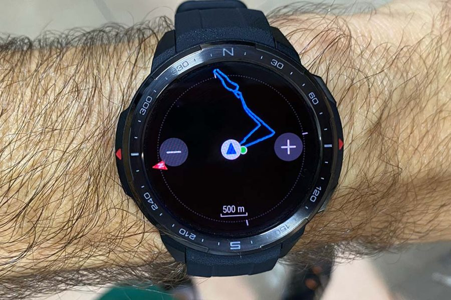 Honor Watch GS Pro - Ruta trackback
