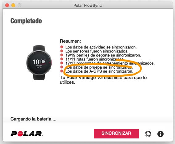Error GPS Polar