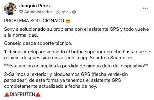 Error GPS solucionado