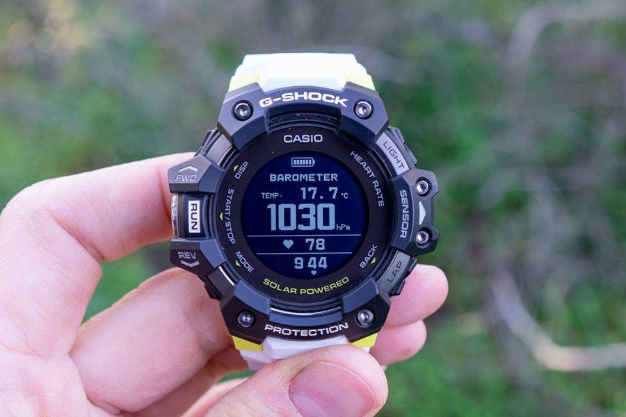 Casio G-Shock H1000 - Barómetro y temperatura