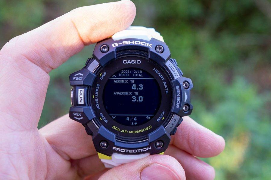 Casio G-Shock H1000 - Efecto de entrenamiento