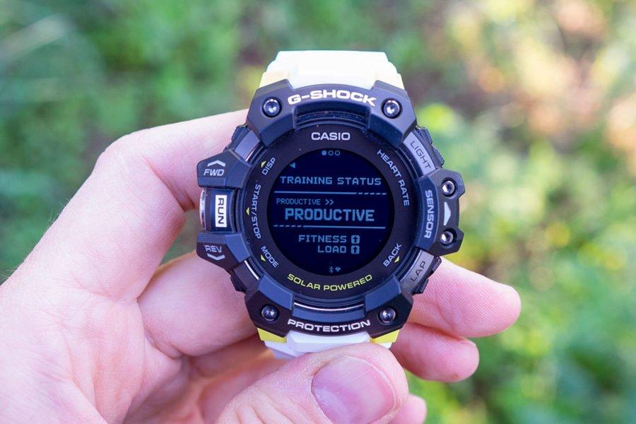 Casio G-Shock H1000 - Estado de entrenamiento