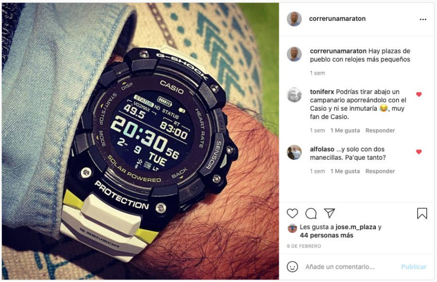 Análisis Casio G-Shock GBD-H1000 8