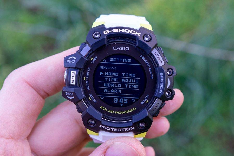 Casio G-Shock H1000 - Menú principal