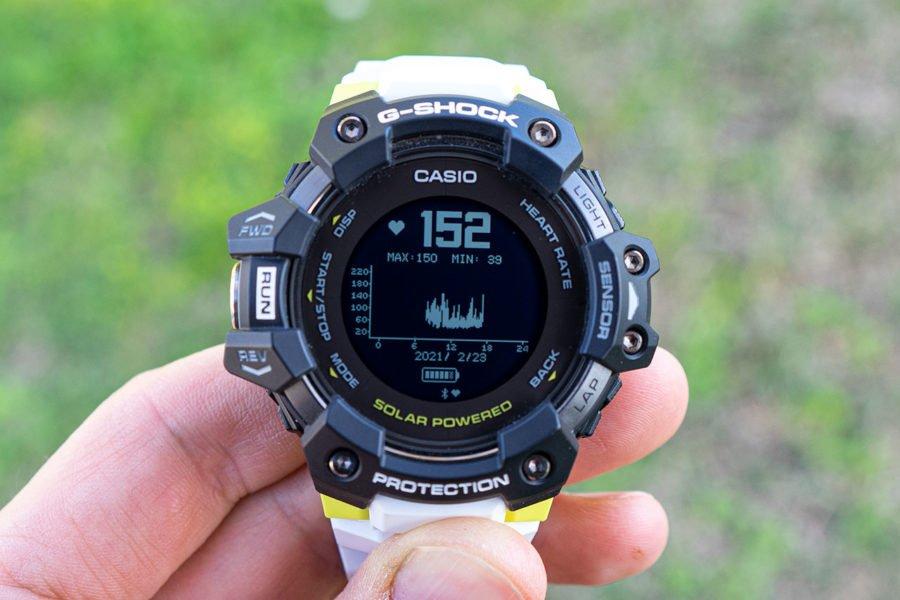 Casio G-Shock H1000 - Modo de frecuencia cardíaca