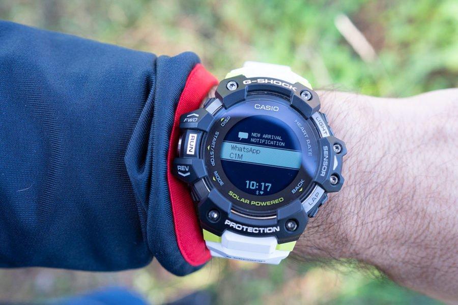 Casio G-Shock H1000 - Notificación