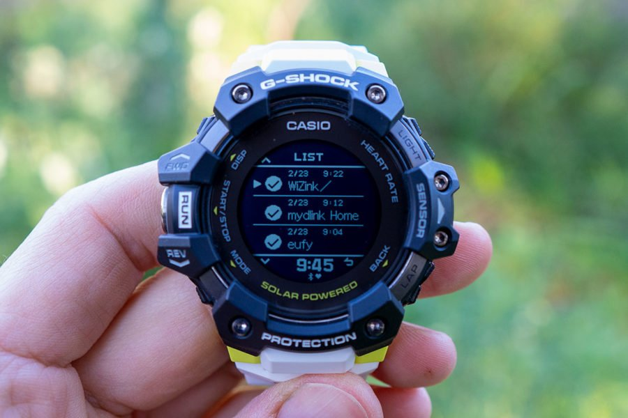 Casio G-Shock H1000 - Notificaciones