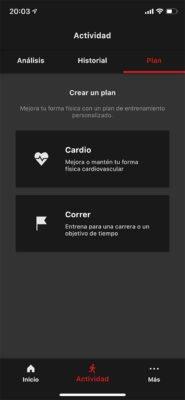 Casio H1000 - Plan de entrenamiento