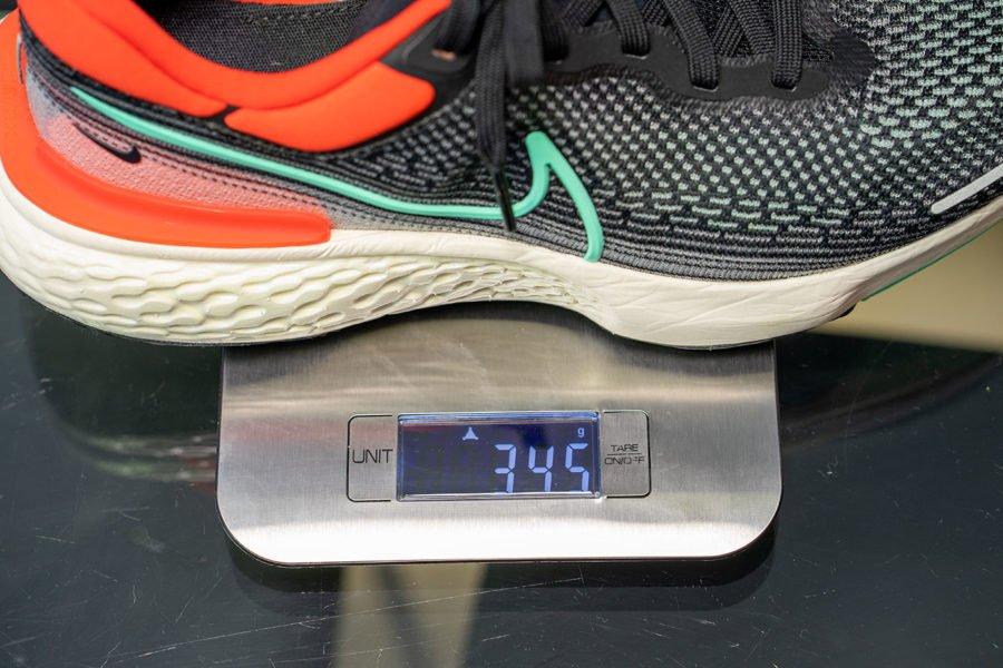 Peso Nike ZoomX Invincible Run