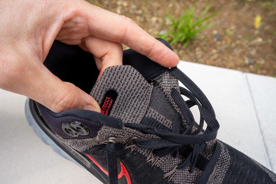 Nike React Infinity Run Flyknit 2 - Lengüeta