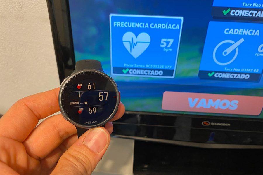 Polar Verity Sense - Doble conexión Bluetooth