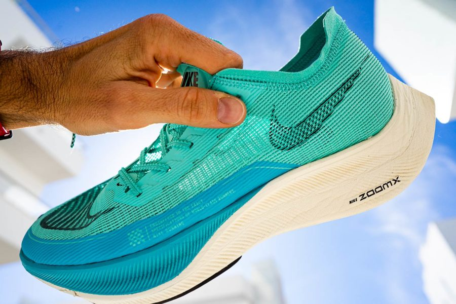 Review Nike Vaporfly NEXT% 2 - Upper