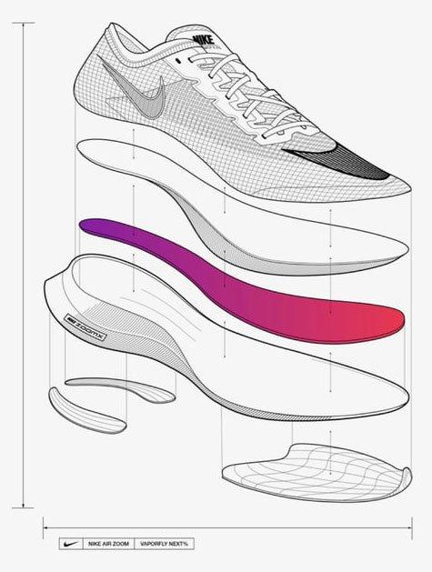 Despiece Nike Vaporfly NEXT% 2