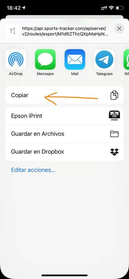 Suunto 9 Baro Titanium - Suunto App a Komoot