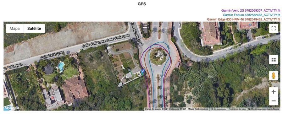 Garmin Enduro - Garmin Venu 2S - comparativa GPS
