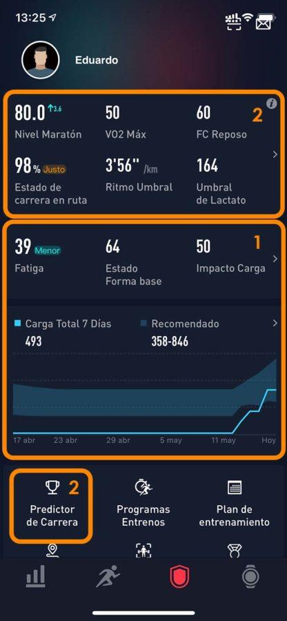 COROS EvoLab - App