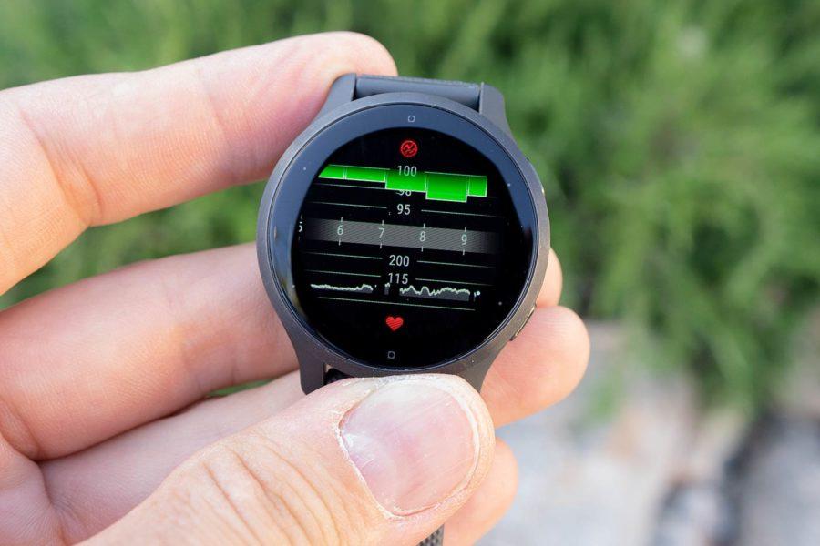 Garmin Venu 2S - Pulsioximetría