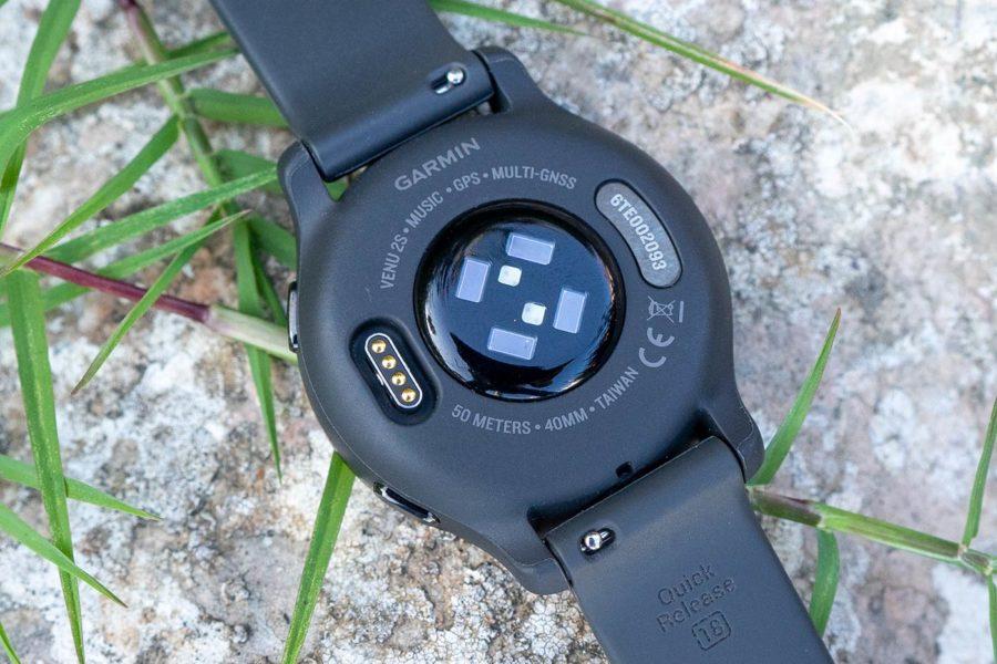Garmin Venu 2S - Sensor óptico
