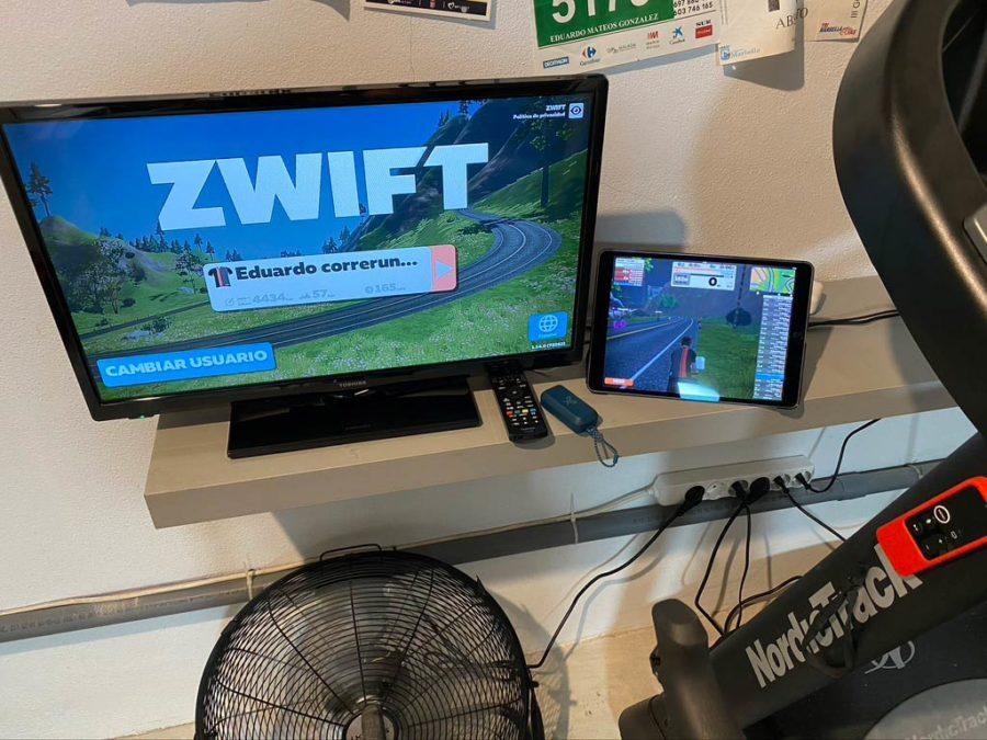 Zwift - Sincronización Garmin