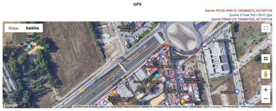 Comparativa GPS Garmin Forerunner 945 LTE - Suunto 9 Peak