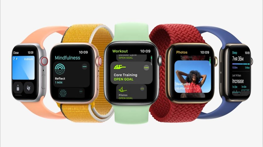 Apple Watch Series 7 - colors