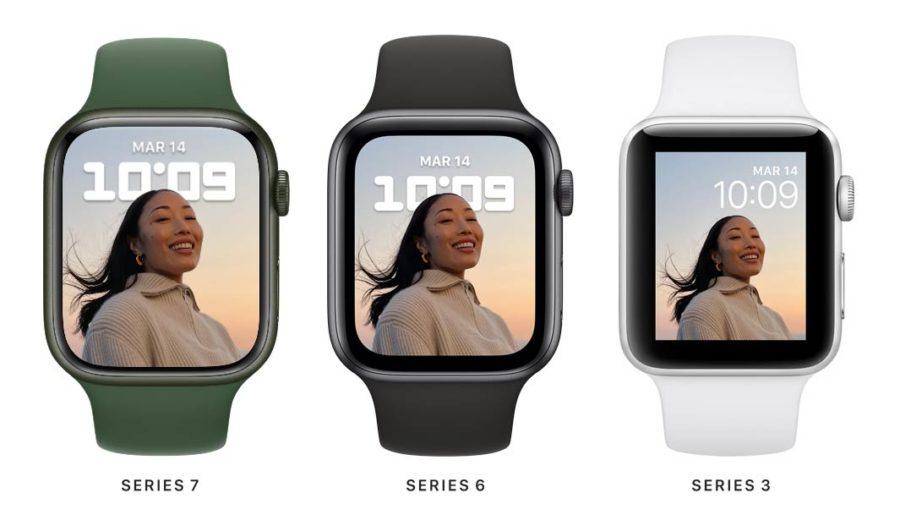 Apple Watch Series 7 - Larger screen