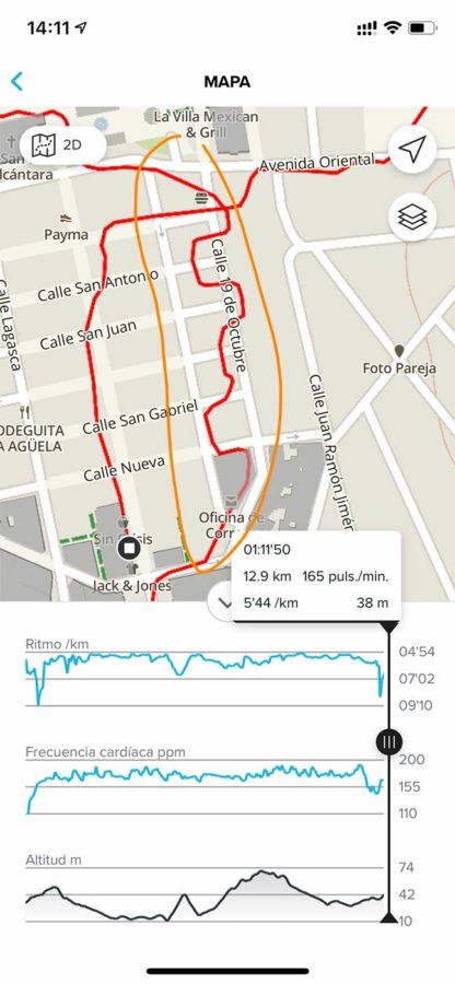 Suunto 9 Peak - Snap to Route