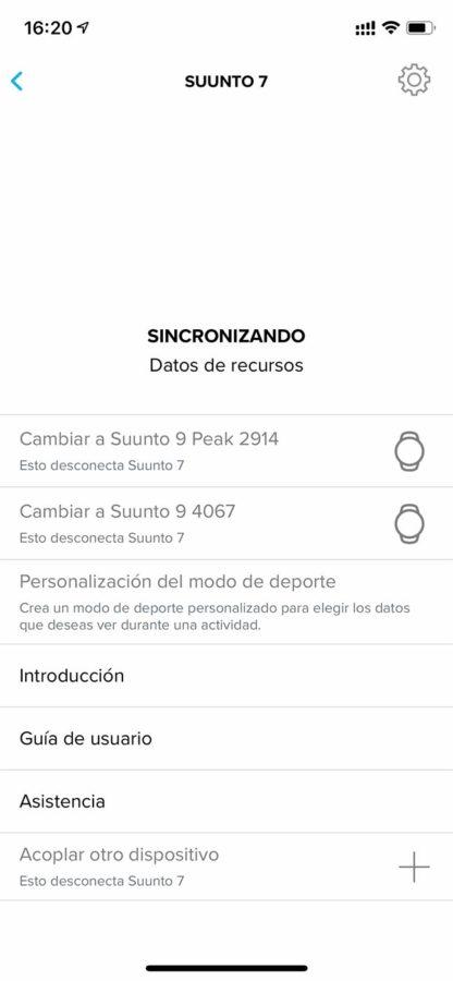 Suunto App - Varios dispositivos