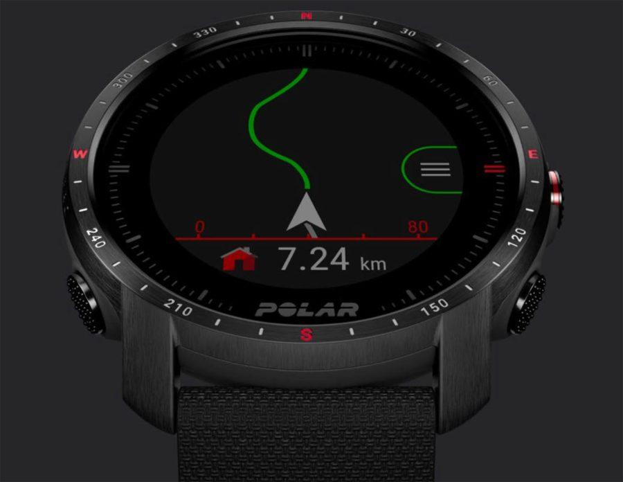 Polar Grit X Pro - Trackback